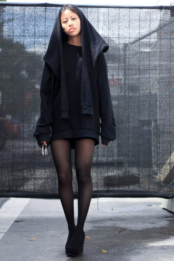 IheartAlice.com - All Black everything Fashion Week Berlin Streetstyle