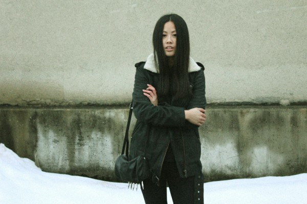 IHEARTALICE – Fashion & Travel-Blog by Alice M. Huynh from Germany: OOTD – Outfit of the Day wearing The Kooples Leather Jacket