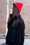 IHEARTALICE – Fashion & Travel-Blog by Alice M. Huynh from Germany: OOTD – Outfit of the Day wearing red OBEY Beanie