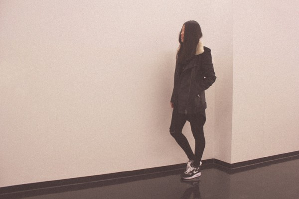IHEARTALICE – Fashion & Travel-Blog by Alice M. Huynh from Germany: OOTD – Outfit of the Day wearing The Kooples Leather Jaket & Nike Air Max