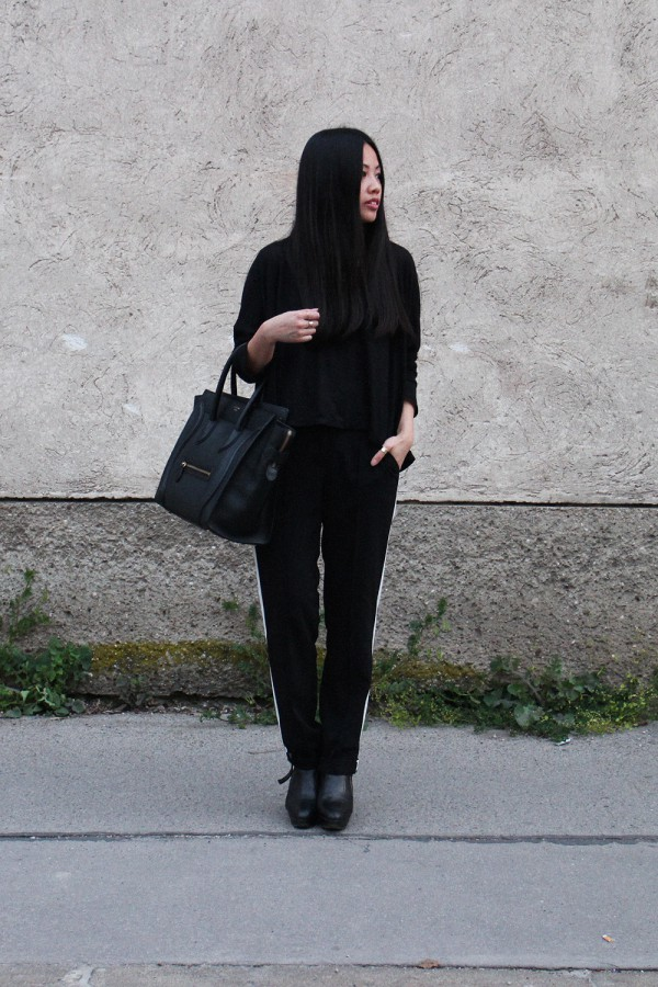 IHEARTALICE – Fashion & Travel-Blog by Alice M. Huynh from Germany: OOTD – Outfit of the Day wearing Celine Luggage Handbag in Black
