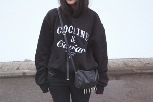 IHEARTALICE – Fashion & Travel-Blog by Alice M. Huynh from Germany: OOTD – Outfit of the Day wearing Cocaine & Caviar Sweater