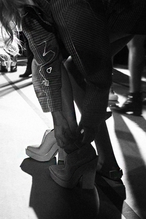 Before The Show: Backstage at Alexander Wang Spring 2014 by Alice M. Huynh - iHeartAlice.com / New York City Diary