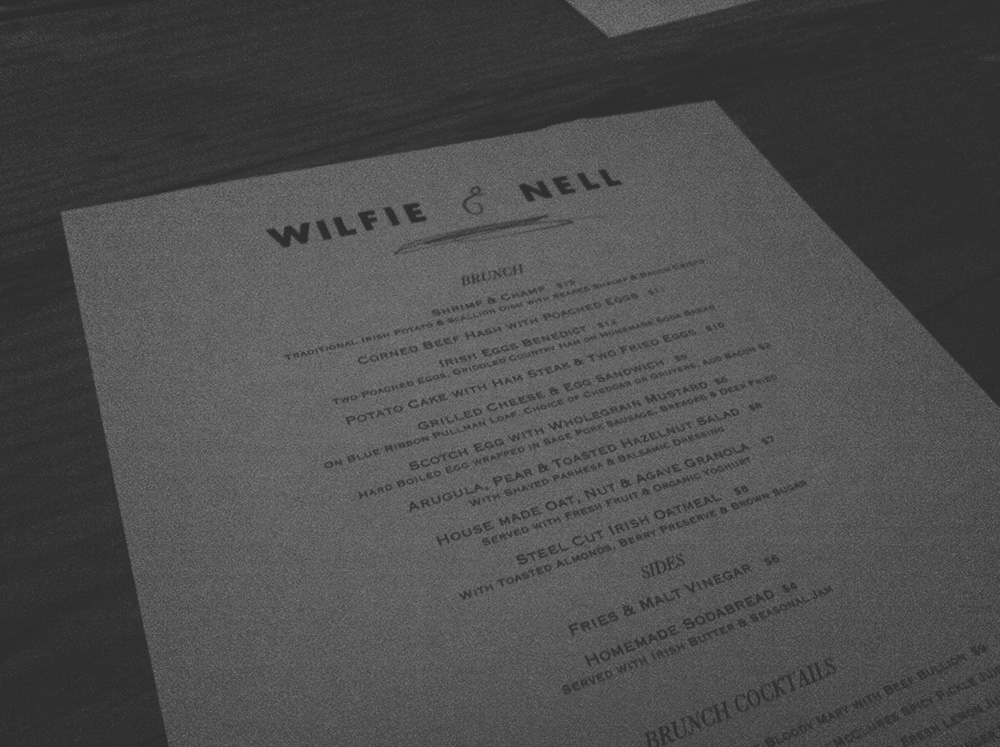 Brunch im Wilfie & Nell in West Village/Manhattan