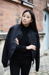 IHEARTALICE.DE – Fashion & Travel Blog: All Black Everything Look wearing Schott NYC Bomber Jacket