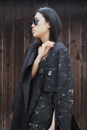 IHEARTALICE.DE – Fashion & Travel Blog: All Black Everything Look wearing Alice M. Huynh Collection