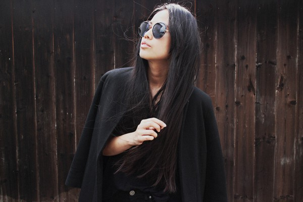 IHEARTALICE.DE – Fashion & Travel Blog: All Black Everything Look wearing Black Long Zara Blazer