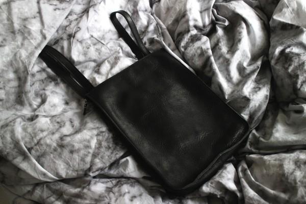 IHEARTALICE.DE – Fashion & Travel Blog: Shopping Haul – Leather Bagpack by SHINOLA