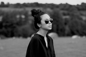 IHEARTALICE.DE – Fashion & Travel Blog: All Black Everything Look wearing Black Long Slit Dress