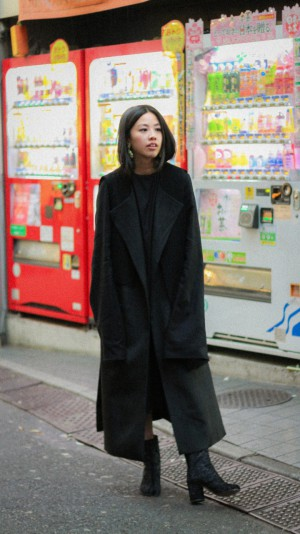 IHEARTALICE.DE – Fashion & Travel-Blog by Alice M. Huynh from Berlin/Germany: Tokyo, Japan Travel Diary – All Black Everything Look in Tokyo wearing Alice M. Huynh Fresh Off The Boat Collection, Oversize Dress & Vest with Maison martin margiela Tabi Boots / Tokyo Streetstyle