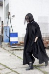 IHEARTALICE.DE – Fashion & Travel-Blog by Alice M. Huynh from Berlin/Germany: All black Everything Look wearing Prada Shades, Non Tokyo Turtleneck Dress, Issey Miyake Homme Pleats Please Pants, Alexander Wang Boots / OOTD