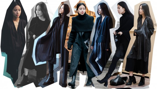 IHEARTALICE.DE – Fashion & Travel-Blog by Alice M. Huynh from Berlin/Germany: All black Everything Look wearing Vintage Cashmere Turtleneck Sweater, Prada Shades, Yohji Yamamoto Pleats Warp Skirt, Maison Martin margiela Tabi Arabesque Boots, DIY Scarf, Elizabeth&James Blazer, Long Vest, / OOTD
