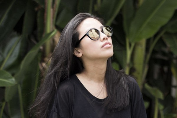 IHEARTALICE.DE Looks: VIU Shades, OAK NY Shirtdress & Alexander Wang Brenda Bag by Alice M. Huynh / All Black Everything / Fashion Blog