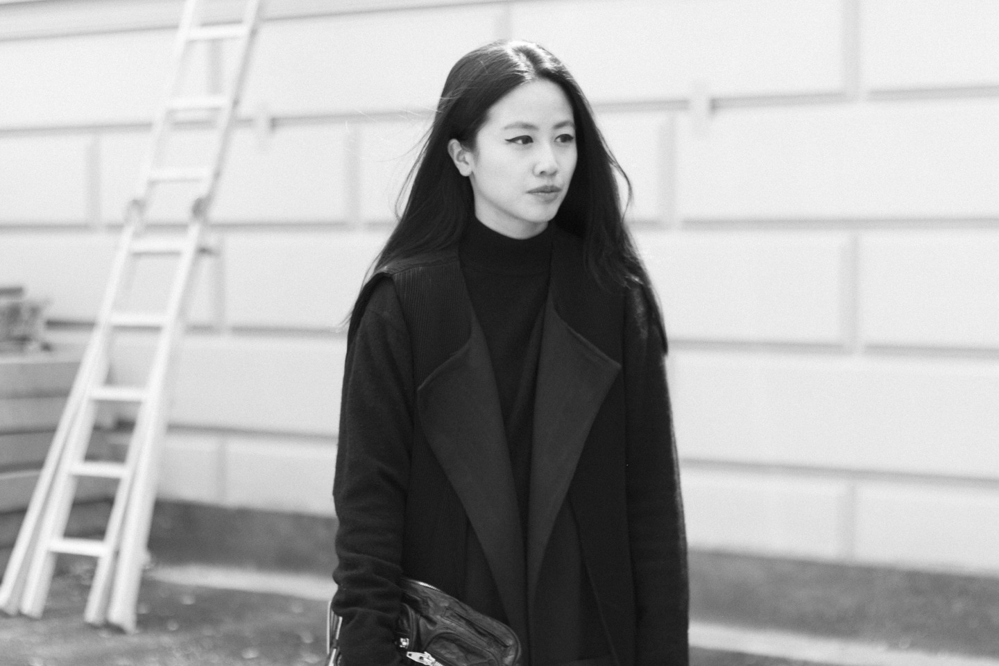 I HEART ALICE – Fashionblog from Berlin / Germany: Alice M. Huynh in Dandy Style, wearing Alice M. Huynh collection, Alexander Wang, Vintage, COS, Saint Laurent Paris