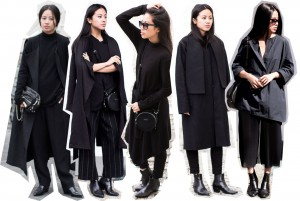 IHEARTALICE – Travel, Lifestyle & Fashion-Blog from Berlin/Germany by Alice M. Huynh: Weekday Black Turtleneck Dress, Carven Black Leather Circular Bag, Acne Pin Black Jeans, Saint Laurent Paris Lizard Stamp Boots