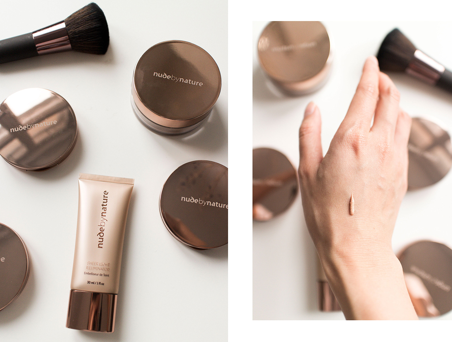 Nude by Nature Christmas Collection Set Review: Sheer Light Illuminator