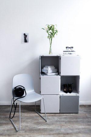 Muuto Visu Chair by Smallable & quibing modular shelf / Interior Inspiration - Minimalist Living by IheartAlice.com - Lifestyle & Travelblog by Alice M. Huynh