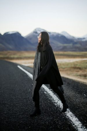 Iceland Traven Diary by IheartAlice.com / All Black Everything wearing Vagabond Boots