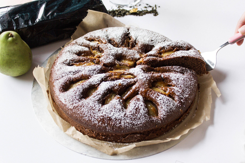 Schokoladen Birnen Kuchen Rezept