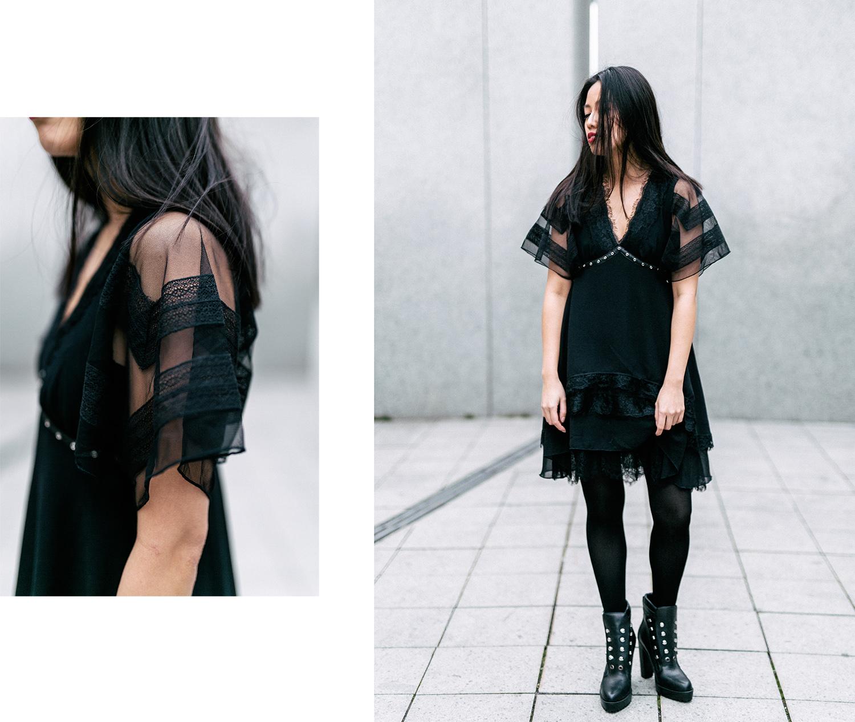 Diesel Tessie Lace-Dress