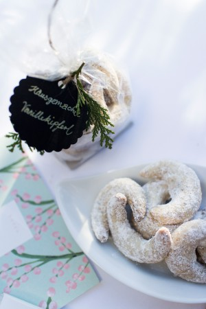 Vanillekipferl Rezept für Weihnachten von Yvi Huynh