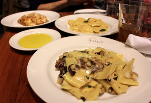 La Pasta Restaurant im Eataly, New York Restaurant Review by Alice M. Huynh