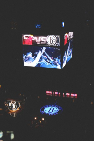 Brooklyn Nets vs. Miami Heat Basketball Game