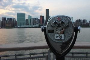 Bester Ausblick über die Manhattan Skyline