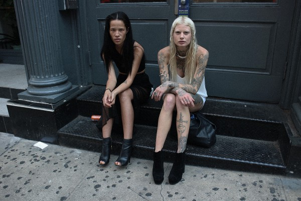 Models Off Duty Streetstyle