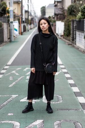 All Black Issey Miyake