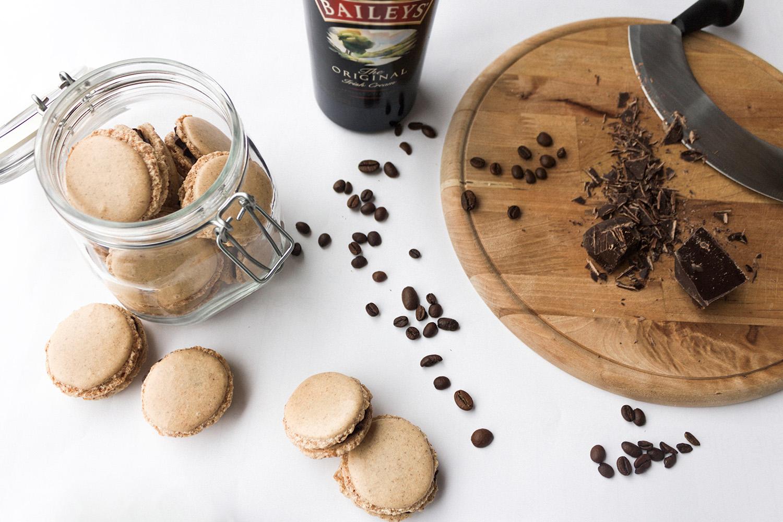 Irish Coffee Macarons mit Baileys Rezept
