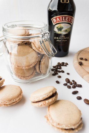 Baileys Irish Coffee Macarons Rezept