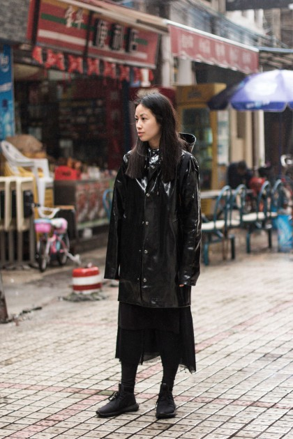 Black Stutterheim Raincoat