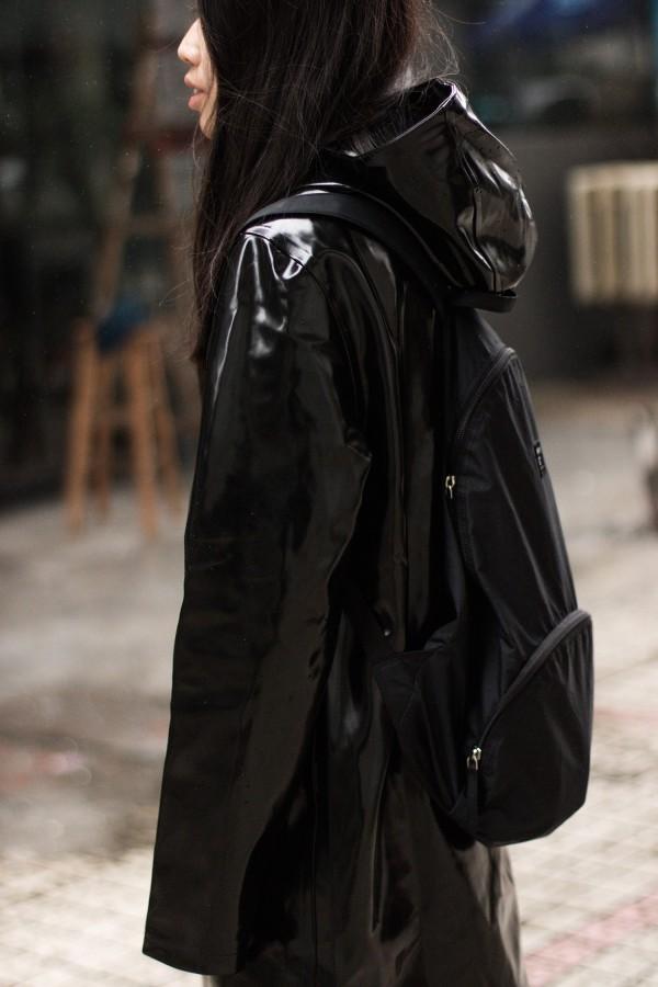 Black Stutterheim Raincoat