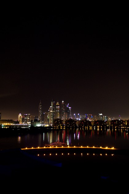 Dubai Skyline Rixos the Palm