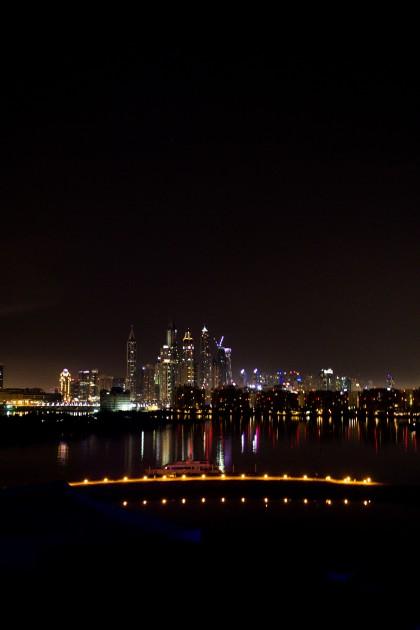 Dubai Skyline Rixos the Palm