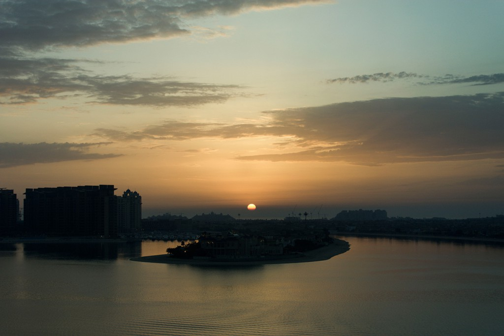 Dubai Sunset Rixos the Palm