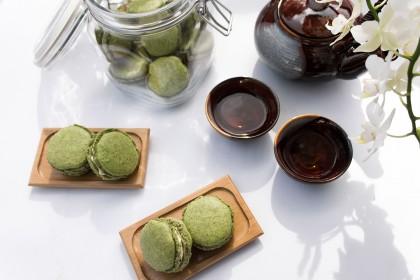 Matcha Macarons Rezept