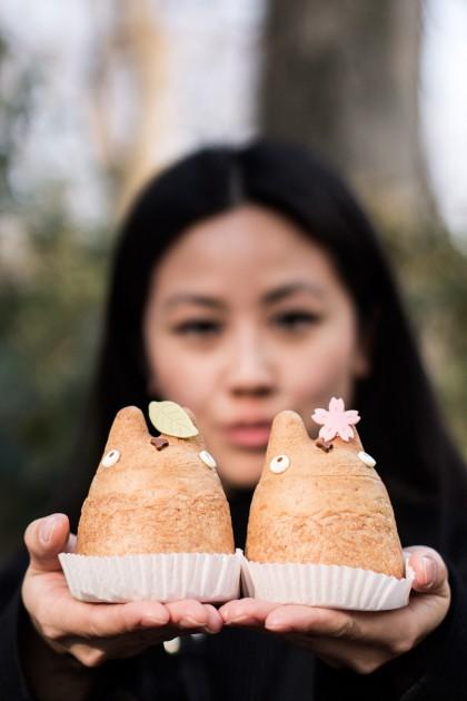 Shirohige's Totoro Cream Puff