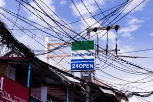 on the streets of Koh Samui