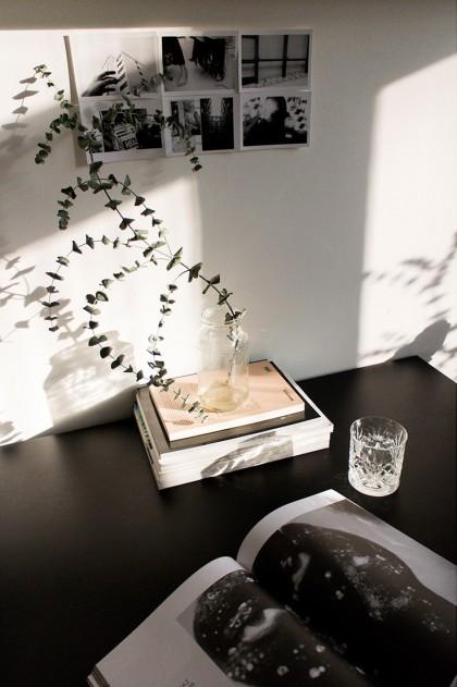 Scandinavian Kitchen Interior / mycs table / IheartAlice.com