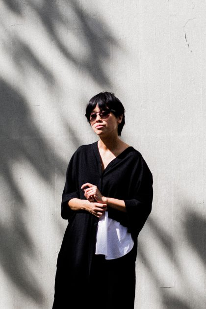 Two-tone COS cardigan / Casual summer look by IheartAlice.com