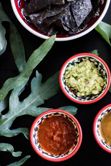Limetten-Mango-Cocktail mit Mezcal Rezept & Tortilla Chips - Visit Mexico / IheartAlice.com