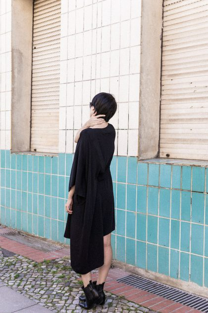 MM6 Maison Margiela One shoulder Dress / IheartAlice.com