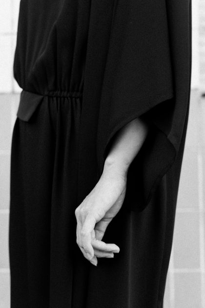 MM6 Maison Margiela One shoulder Dress / IheartAlice.com