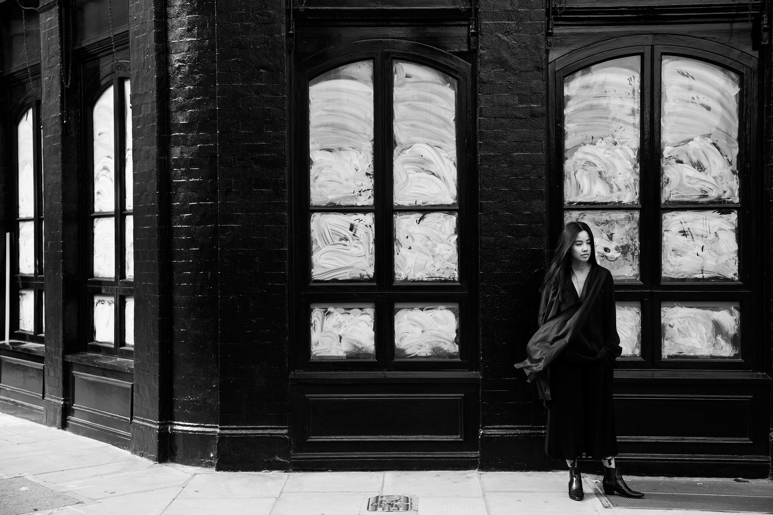 Darker than Dark – All Black Everything Look w/ Saint Laurent Paris + Alice M. Huynh Designs / iHeartAlice.com - Shot by TheAlphaKiks