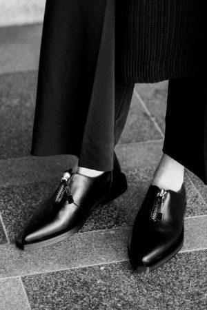 Zign Studio Kollektion - Sleek Split Slippers / All black Everything - IheartAlice.com / Fashion- & Travelblog