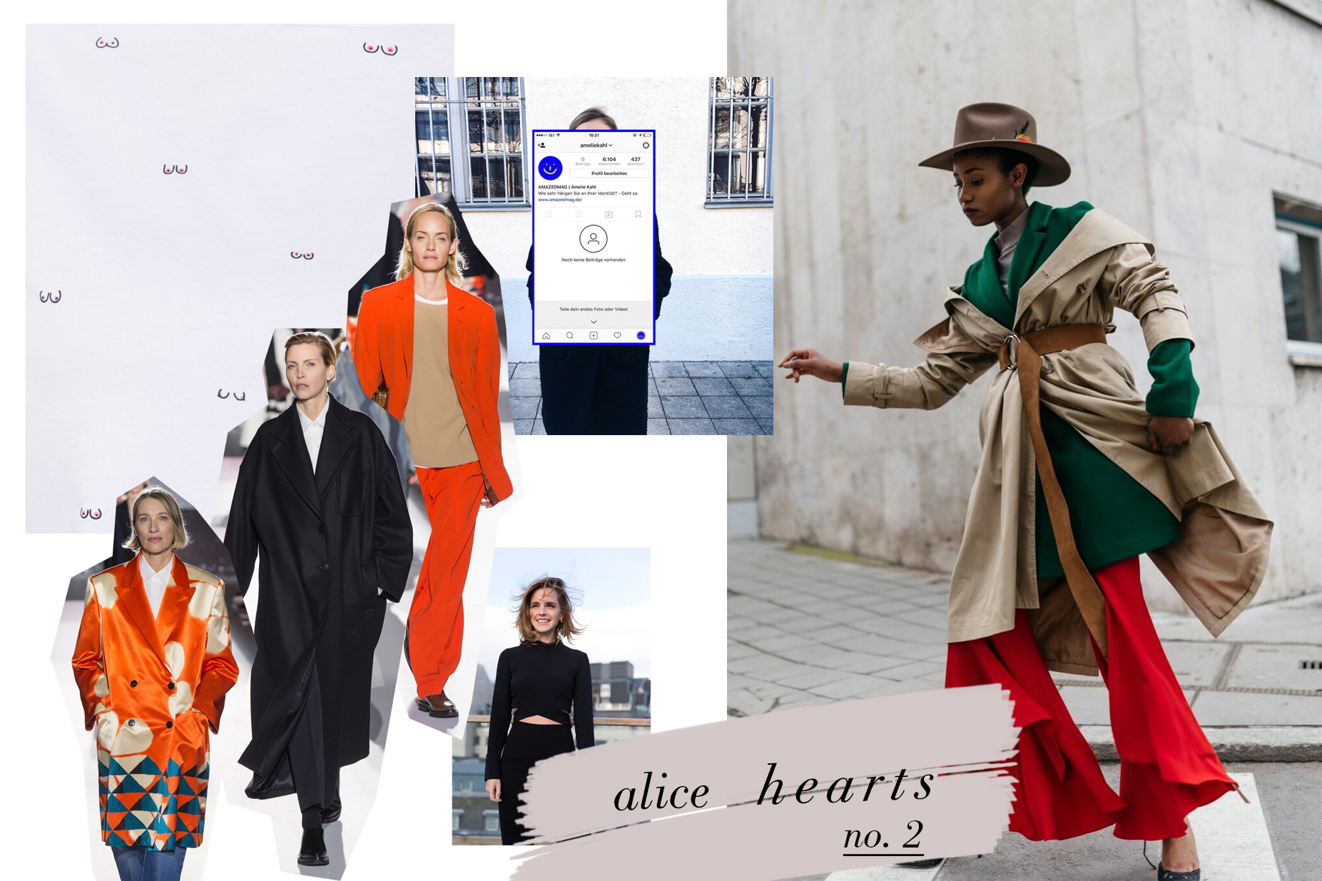 Alice Hearts No. 2: Dries Van Noten, amazed Kolumne, Emma Watson The Press Tour, The Jane Wayne, Robyn Byn