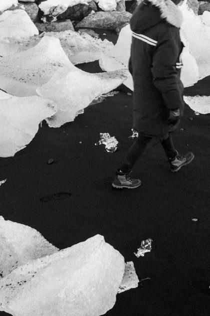 Iceland Travel Guide / Glaciar Lagoon Jökulsarlon - Diamond Beach / IheartAlice.com