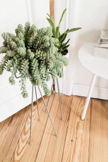 Living Room Inspiration: FERM Living Plantstand & Menu YEH Table from CONNOX / IheartAlice.com